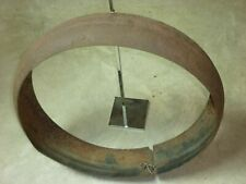 Original 1930's Chevrolet Ford Mopar Spare Tire Cover Ring Chopper Bobber Fender