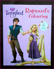 DISNEY TANGLED - RAPUNZELS COLOUR / Colouring in BOOK Pretty Color 64pg - NEW