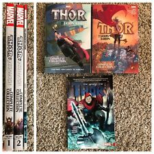 Thor by Jason Aaron Complete Collection TPB Set 1 2 Unworthy God of Thunder 8 25