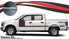 F150 Solid Side Body Hockey Two Tone Graphics Decals Stripes Ford More colors