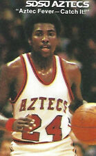 Tony Gwynn 1979-1980 SDSU Aztecs Basketball Pocket Schedule Padres Baseball Star