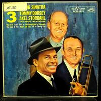 FRANK SINATRA DORSEY STORDAHL we 3 LP VG+ LPM-1632 Mono RCA 1s/1s Vinyl