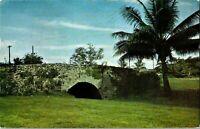 Guam Spanish Bridge Agana River Postcard