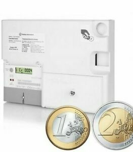 Emlite Electric € EURO Coin Digital Prepayment Meter Landlord Caravans To Let