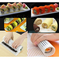 New Practical Sushi Rolling Roller Plastic Material Mat Maker Kitchen DIY Hot TO