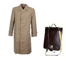 Soviet DDR Spy Cold War Set = Raincoat Overcoat + Messenger Satchel Bag NEW VTG