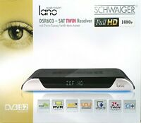 SCHWAIGER lano DSR603 Sat TWIN Receiver FullHD CI+ PVR Unicable