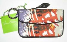 VERA BRADLEY Painted Feathers Print Jen Zip ID Case *NWT*