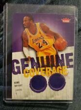 2008-09 Fleer Basketball Kobe Bryant Genuine Coverage Jersey Card # Gc-Kb