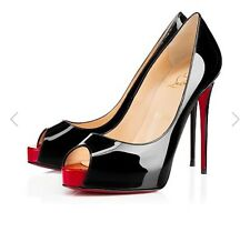 New Christian Louboutin VERY PRIVE 120 41.5 10 9.5 Heels Shoes SOLD OUT in Store