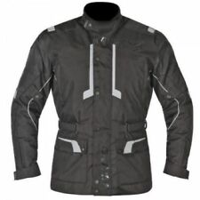 Blousons noirs en polyester epaule pour motocyclette