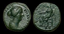 FAUSTINA JR - AE As (Juno) Rome