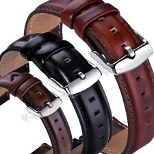 For Fossil Watch Band Genuine Leather Wrist Strap 18/20/22mm Quick Release Pin