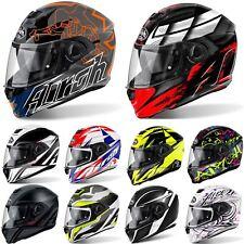 Airoh Storm Full Face Motorcycle Motorbike Helmet Sun Visor Pinlock ACU