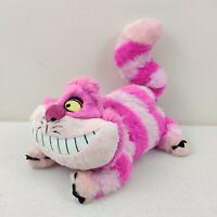 """Disney Store Cheshire Cat Plush Stuffed Animal Alice in Wonderland 12"""" pink"""