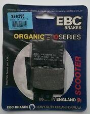 Aprilia Scarabeo 125 / 150 (1999 to 2015) EBC Organic REAR Brake Pads (SFA298)