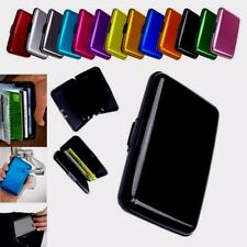 CARD HOLDER ALUMINIUM SECURITY CREDIT WALLET ALL COLOR STYLISH PROTECTION UK SEL