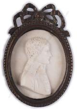 """Napoleon Bonaparte as 1st Consul"", miniature bas-relief, ca. 1800"