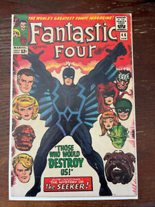 fantastic four #46 1st appearance of black bolt! collectors key! Glossy!
