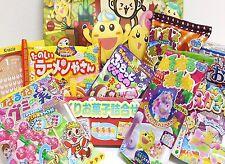 7 Pcs Kracie Japanese DIY Candy Kits Popin Cookin Happy Kitchen Sweets Making