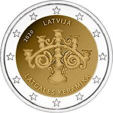 2 euro Lettonie 2020 - La céramique de la région du Latgale