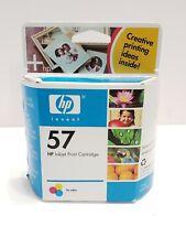 Genuine Hp C6657AN 57 Tri-Color Ink Cartridge Exp. Jan. 2006 Hewlett Packard