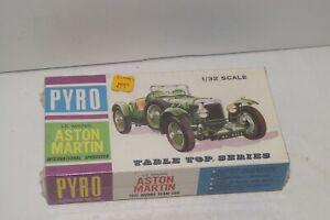 Vintage Pyro 1931 Le Mans Aston Martin Model Kit #C321-60 - Sealed