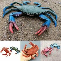 Kids Toy Figure Large Size Red Crab Realistic Sea Gifts Plastic Toy Animal