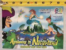 "Vintage Rave Flyer 1999 ""Awakening In Neverland"" Original Rare Music Memorabilia"