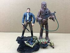 New Arrival Star Wars LEGACY Han Solo, Chewbacca & C-3PO Action Figures S447