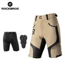 ROCKBROS 2-layer Sponge Cycling Shorts MTB Road Bike Outdoor Sports Biker Shorts