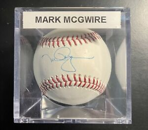 Mark McGwire Signed Official Rawlings Baseball Autographed AUTO Steiner/MLB COA