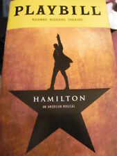 HAMILTON Playbill Broadway Musical Alexander DANIEL BREAKE JAMES MONROE IGLEHART