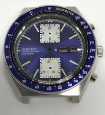 Seiko 6138-0030 Kakume Original Case Dial Bezel Crown Movement Holder Hand Watch