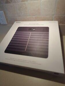 GENUINE Nokia Body Cardio Composition BMI HR Wi-Fi Smart Scale Black - Open Box