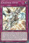 YU-GI-OH CARD: CRYSTRON ENTRY - INOV-EN071