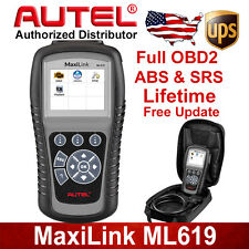 Autel ML619 OBD2 Diagnostic Codes Scan Tool ABS Airbag Better Than AL619 For BYD