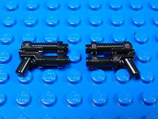 LEGO-MINIFIGURES SERIES 13] 2 BLACK GUNS FOR THE GALAXY TROOPER SERIES 13 PARTS