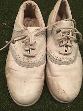 Women's Foot Joy Leather Golf Shoes Sz 7M
