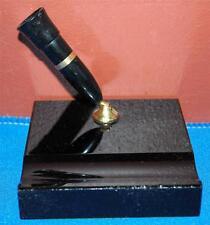 VINTAGE SHEAFFER'S BLACK DESK FOUNTAIN PEN HOLDER IN BLACK & GOLD 100