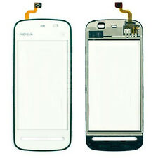 NOKIA 5230 xperss MUSICA TOP Front Touch Screen Digitizer Lens pannello Pad Bianco UK