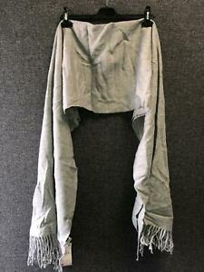 Zara Textured Weave Scarf Grey TD017 FF 14