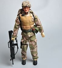 Promotion 1/6 WWII US army Airborne Solider Figure Desert Camo Sets Model Toy