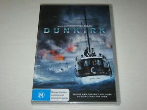 Dunkirk - Brand New & Sealed - Region 4 - DVD