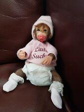 Ashton Drake Collectable Monkey