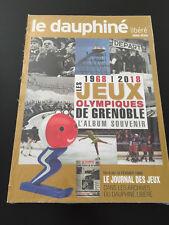 DAUPHINE LIBERE HORS SERIE JEUX OLYMPIQUES GRENOBLE 1968-2018 JO ALBUM SOUVENIR