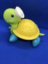 Vintage 1977 Fisher Price Pull Along Turtle #644 Quaker Oats Company