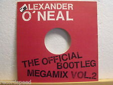 "★★ 12"" maxi-Alexander O 'Neal-The Official Bootleg Megamix vol. 2-tabú 1989"