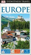 Dk eyewitness travel guide europe (eyewitness travel guides), dk, new book