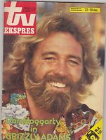 DEC 17 1979 - TV EKSPRES - foreign television magazine - GRIZZLY ADAMS